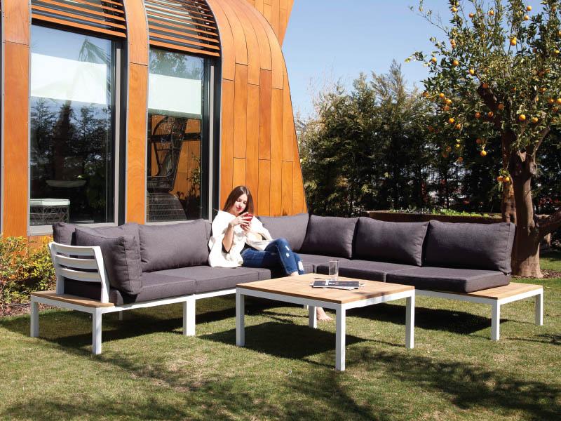Hawa Corner Sofa Set