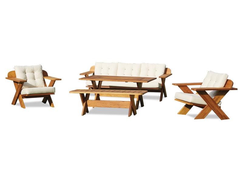 Cross Sofa Set